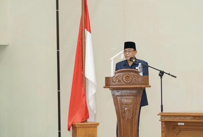Laporan Banggar DPRD Inhil Terhadap Rancangan KUA dan PPAS APBD Inhil 2022