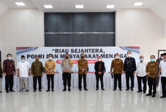 Polda Riau Gagas Dialog Interaktif Dengan Tema