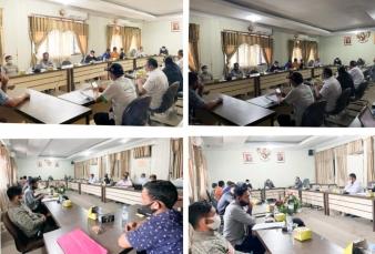Komisi III DPRD Rohul Hearing, Sekitar 500 Pekerja PT.SJI Nusa Coy Belum Didaftarkan Sebagai Peserta Jamsostek